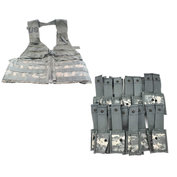 MOLLE Grenadier Pouch Set W/ FLC Load Bearing Vest— KIt