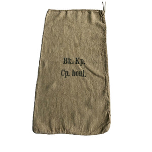 WWII Era German Burlap Sack