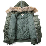 N2B Flight Parka with Coyote Fur Hood
