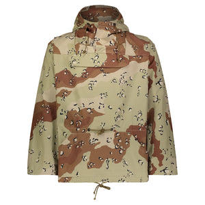 Chocolate Chip Camo Nylon Ripstop Anorak