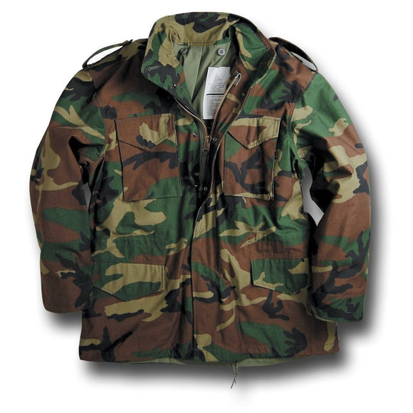 Military M-65 Field Jacket - Size X-Small Long