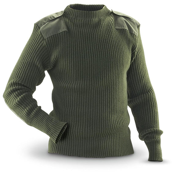 USMC Commando Sweater with Epaulettes