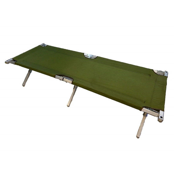 GI Folding Cot with Aluminum Frame