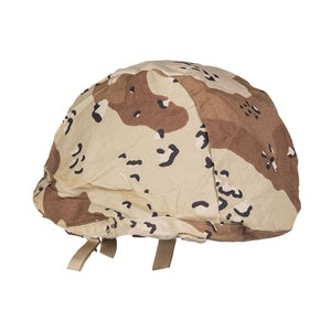 6-Color Desert Camo Helmet Cover