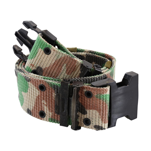 Military Style 3 Prong Pistol Belt