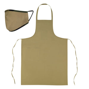 Canvas Mask & Apron Set