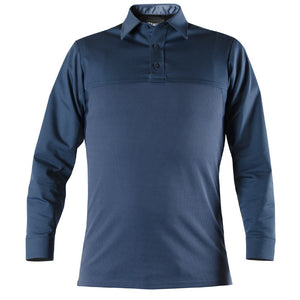 Public Safety Long Sleeve Base Shirt, French Blue