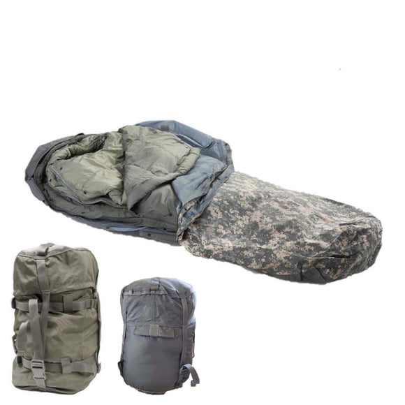US Military ACU 5 Piece Modular Sleep System (MSS)