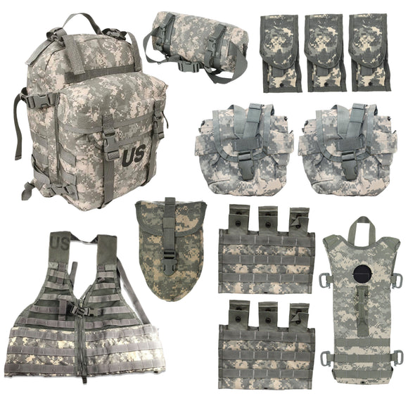 12 Piece MOLLE Rifleman Kit — Used