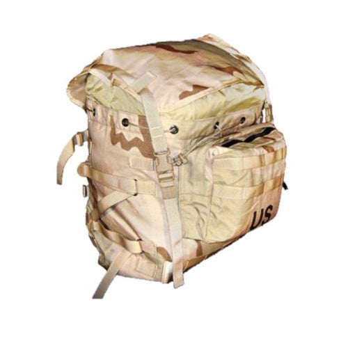 G.I. MOLLE 3 Color Desert Rucksack— Large
