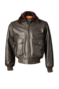 Leather G-1 Jacket