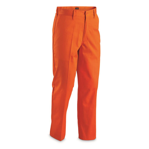 Flat Front Work Pants