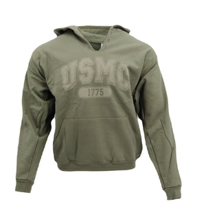 USMC 1775 Hooded Sweatshirt— Olive Drab