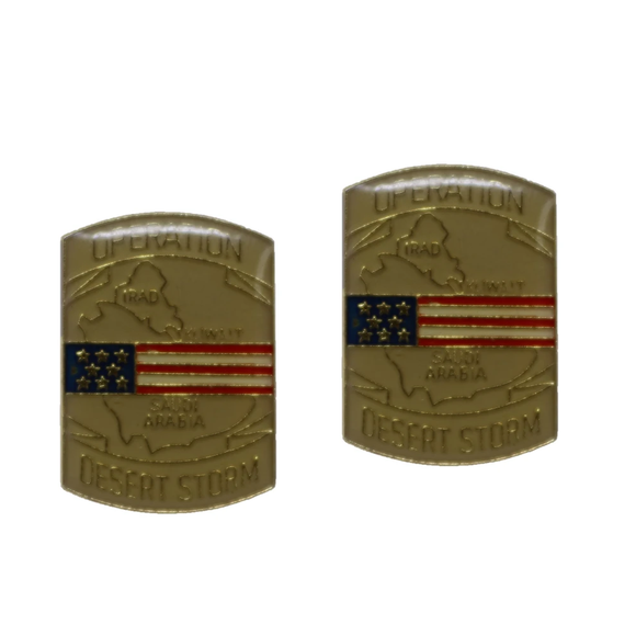 Operation Desert Storm Collectible Pin — 2 Pack