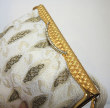 Load image into Gallery viewer, 1940s Evening Steel Beaded Bag