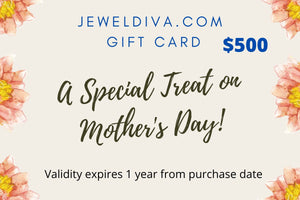 Jeweldiva.com Mother's Day Gift Card
