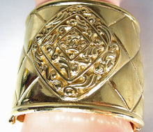 Load image into Gallery viewer, VINTAGE CHANEL SIGNED CLASSIC QUILTED WIDE CUFF - JD10217