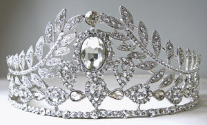 Magnificent Clear Crystal Tiara/Crown