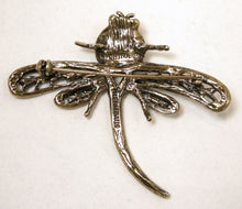 Load image into Gallery viewer, Signed Heidi Daus Dragonfly Brooch