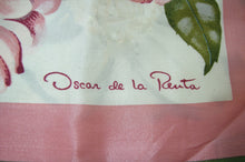 Load image into Gallery viewer, Vintage Signed Oscar de la Renta Silk Scarf
