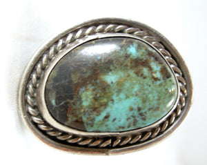 American Indian Pawn Turquoise ring