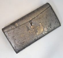 Load image into Gallery viewer, Piero Guidi Silver Magic Circus Wallet