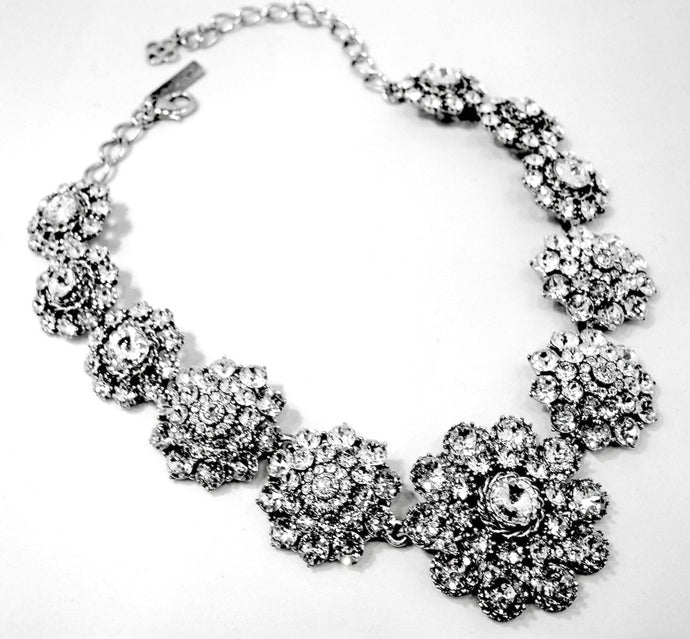 Vintage Oscar De La Renta Crystal Necklace
