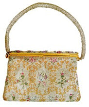 Load image into Gallery viewer, Vintage Art Deco 1930s French Beaded Tapestry Handbag