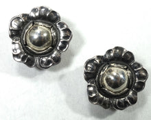 Load image into Gallery viewer, Vintage Signed Georg Jensen 2002 Sterling Silver Earrings