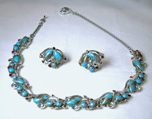 Load image into Gallery viewer, Vintage Murano Glass Necklace & Earrings