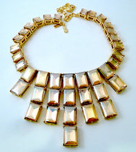 Load image into Gallery viewer, Signed Kenneth J. Lane Citrine Crystal Necklace