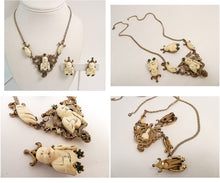 Load image into Gallery viewer, Vintage Rare Selro Necklace & Earrings