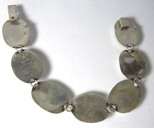 Load image into Gallery viewer, Vintage Multi-Colored Stone Sterling Bracelet - JD10195