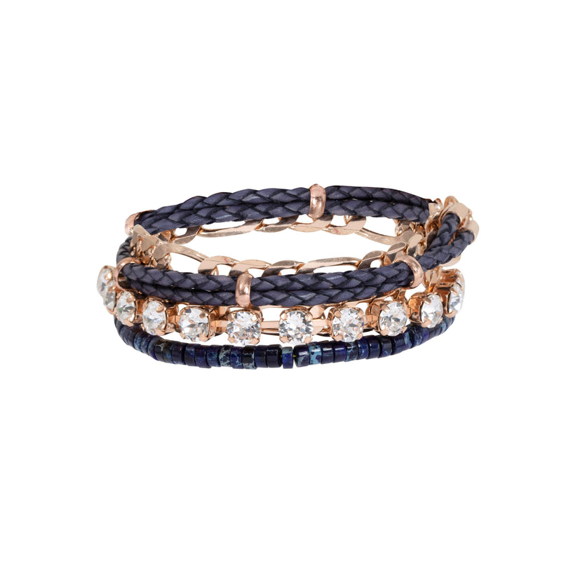 Coravana - Bond Bracelet - Deep Blue