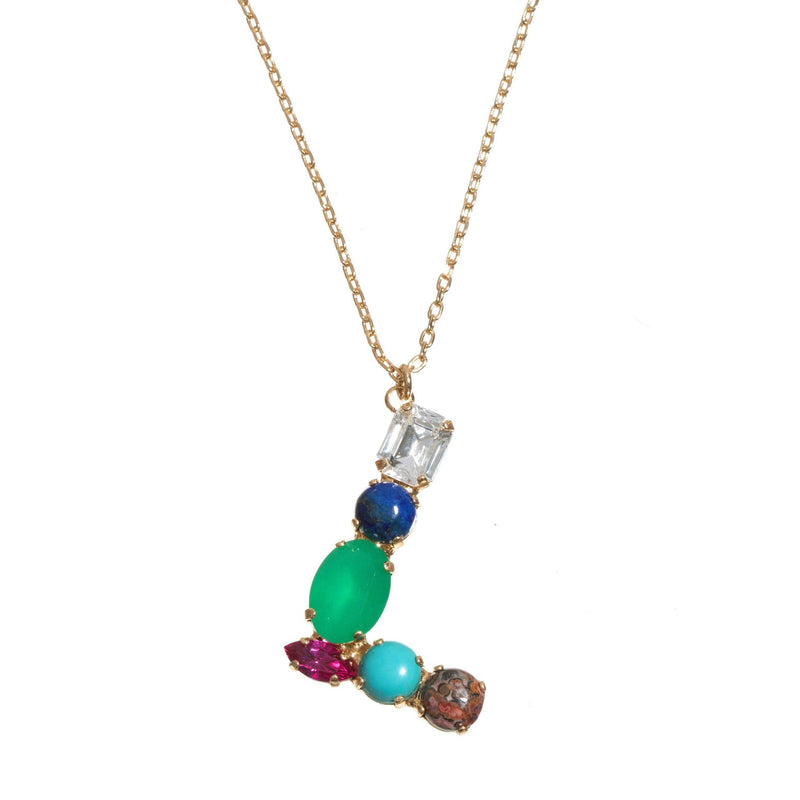 Coravana - L Crystal Necklace