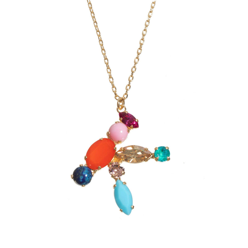 Coravana - K Crystal Necklace