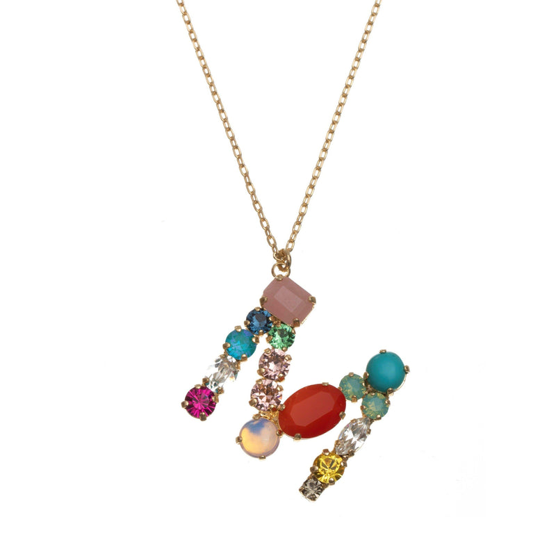 Coravana - M Crystal Necklace