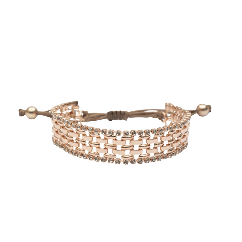Coravana - Downtown Bracelet - Rose Gold