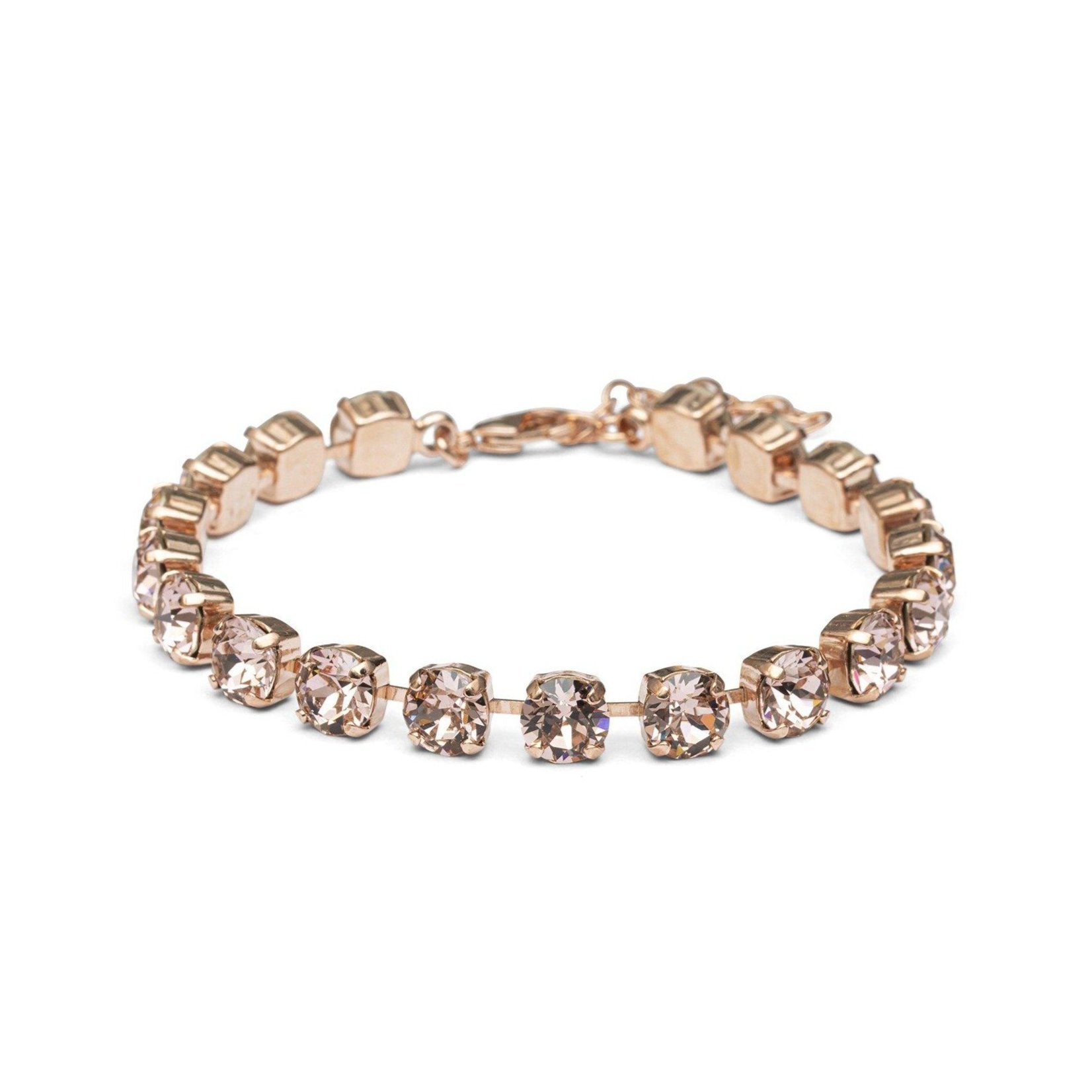 Crystal Anklet - Rose Gold