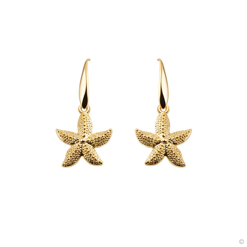 Coravana - Ariel Starfish Hook Earrings