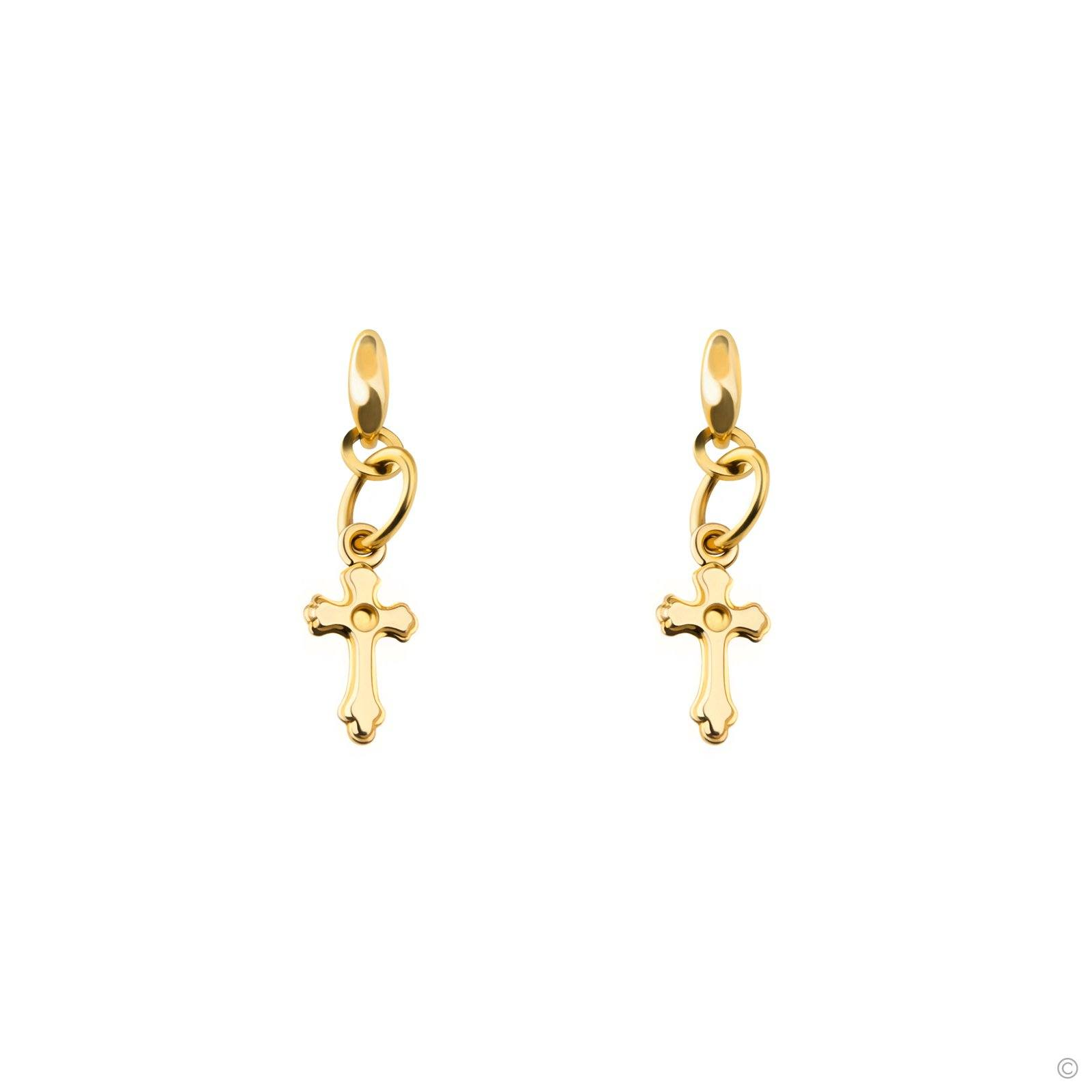 Crucial Cross Earrings