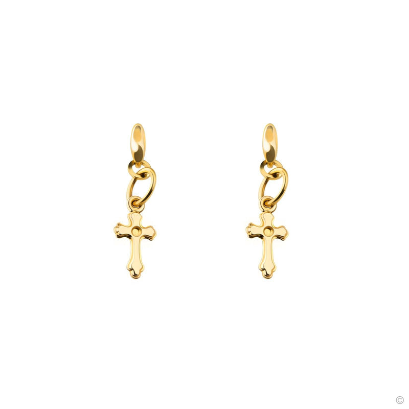 Coravana - Crucial Cross Earrings