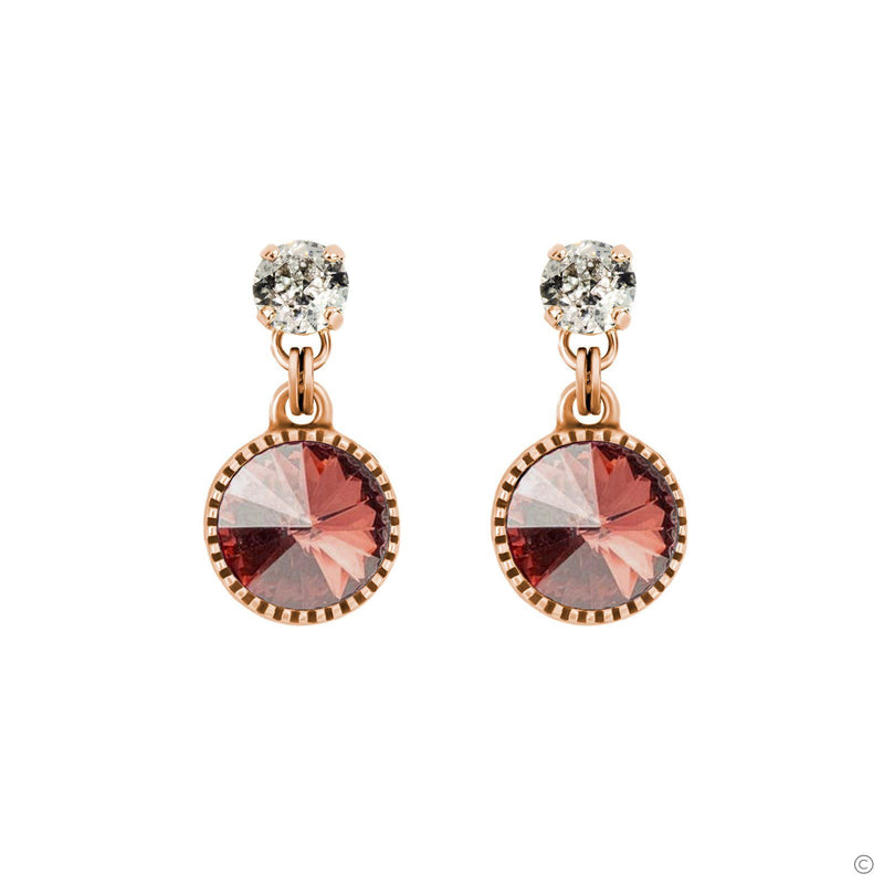 Coravana - Daydream Earrings - Pink & Rose Gold