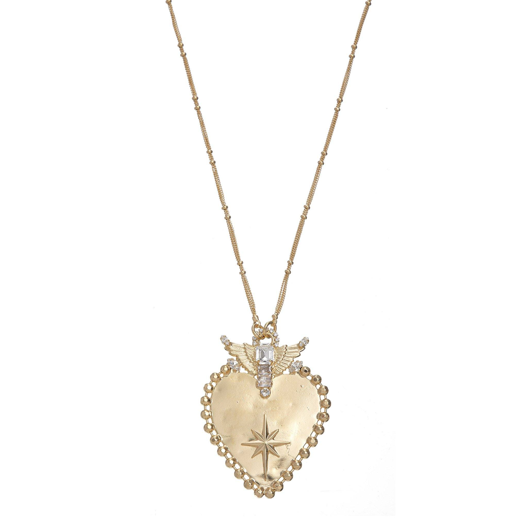 Spirit of Love Necklace - Gold