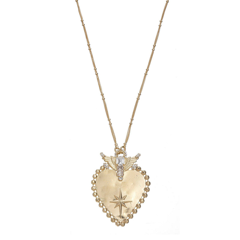 Coravana - Spirit of Love Necklace - Gold