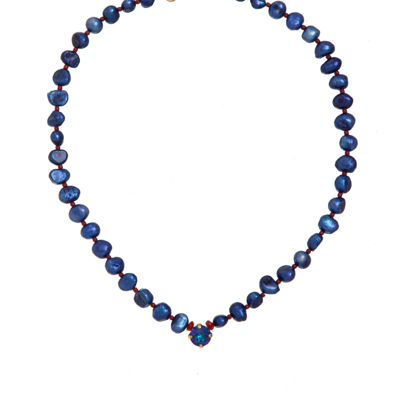 Coravana - London Blue Necklace