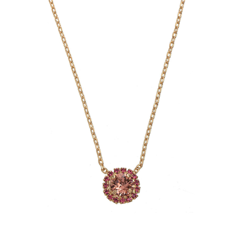Coravana - Royal Stone Necklace - Magenta