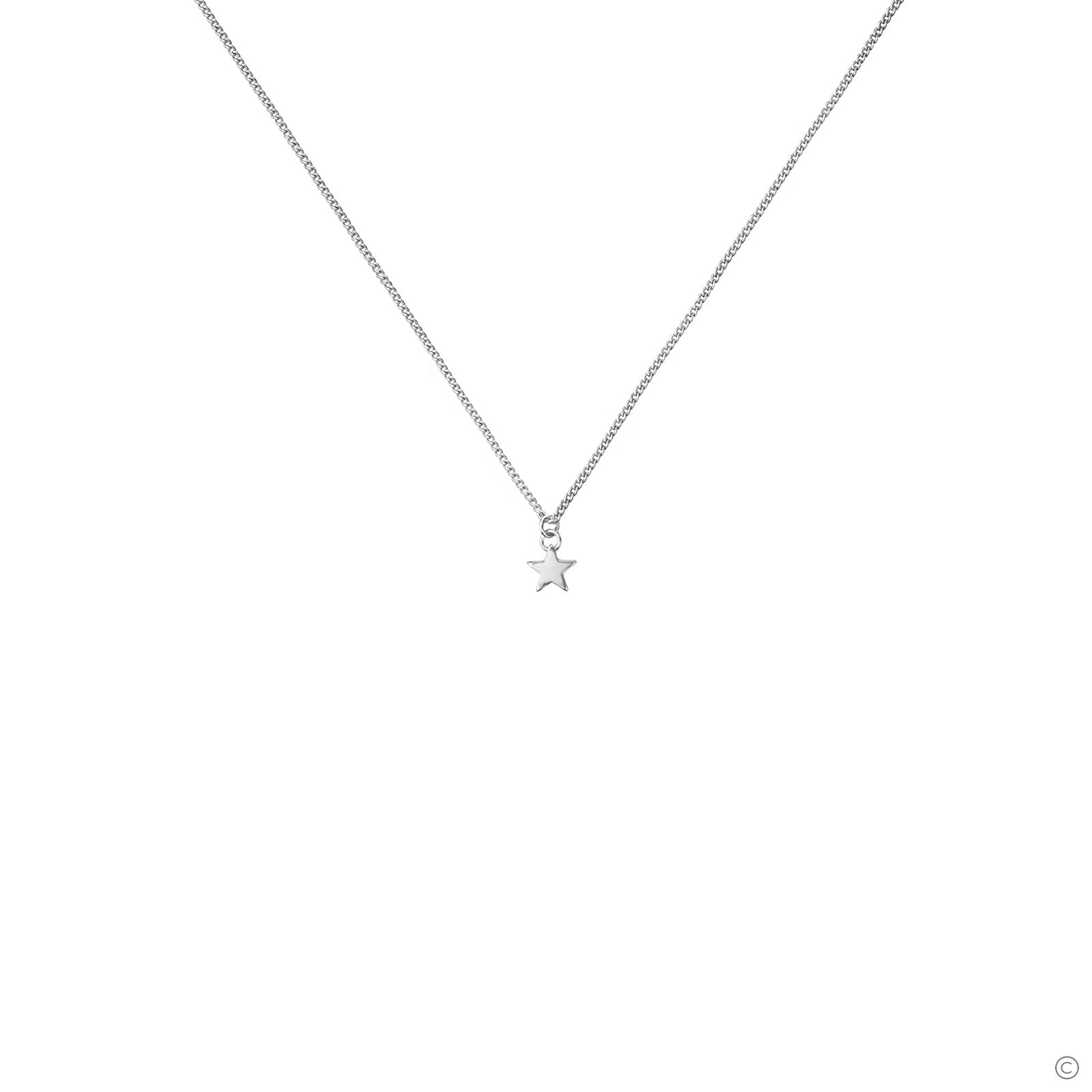 Mini Star Necklace - Silver