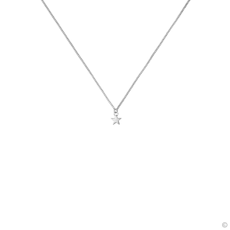 Coravana - Mini Star Necklace - Silver