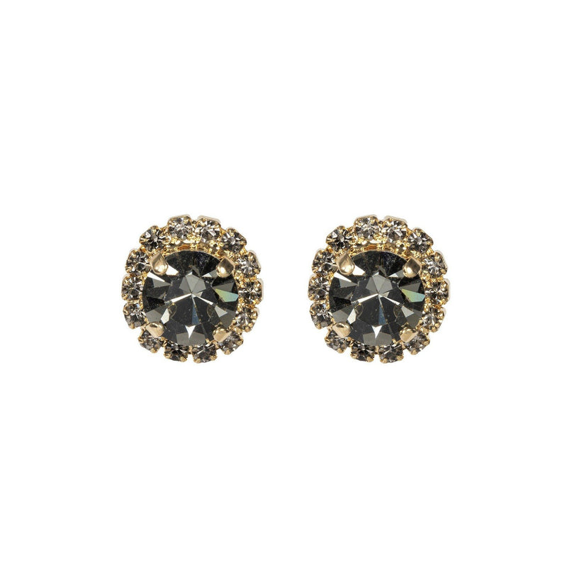 Coravana - Color Drop Earrings - Black Diamond
